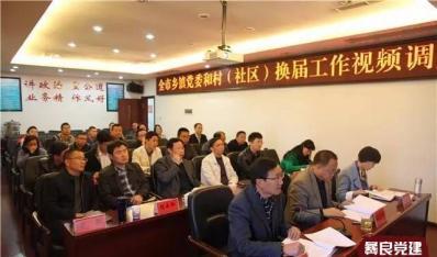 昭通市召开乡镇党委和村(社区)换届视频调度会