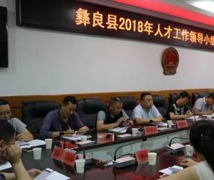 彝良县召开人才工作领导小组会议