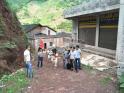 洛旺乡云丰村党员服务队为五保老人修复房屋