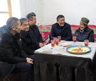 彝良县委领导开展春节走访慰问活动
