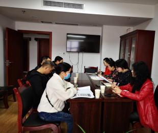 县委宣传部党支部认真开展4月爱国卫生运动主题党日暨讲党课活动